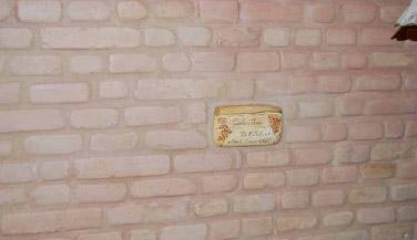 Muro pronto antico